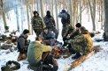 Fotografia: Prestávka a hop do hôr , fotograf: Simona Kleinová, tagy: Les,sneh